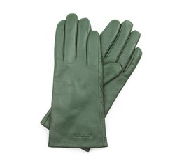 Rękawiczki damskie, zielony, 39-6L-201-Z-S, Zdjęcie 1