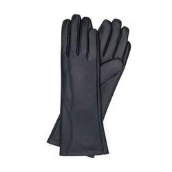 Rękawiczki damskie, czarny, 39-6L-225-1-L, Zdjęcie 1
