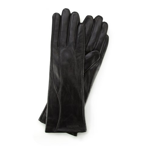 Rękawiczki damskie, czarny, 39-6L-225-1-V, Zdjęcie 1
