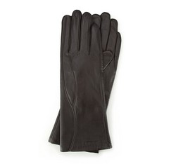 Rękawiczki damskie, ciemny brąz, 39-6L-225-BB-L, Zdjęcie 1