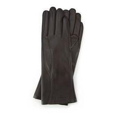 Rękawiczki damskie, ciemny brąz, 39-6L-225-BB-S, Zdjęcie 1