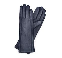 Rękawiczki damskie, granatowy, 39-6L-227-GC-L, Zdjęcie 1