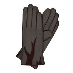 Women's gloves, brown, 44-6-525-BB-S, Photo 1
