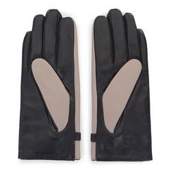 Gloves, beige-black, 39-6-644-A-V, Photo 1