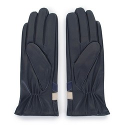 Gloves, black-navy blue, 39-6-645-GC-S, Photo 1