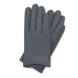 Women's smooth leather gloves, graphite, 46-6-309-S-X, Photo 1