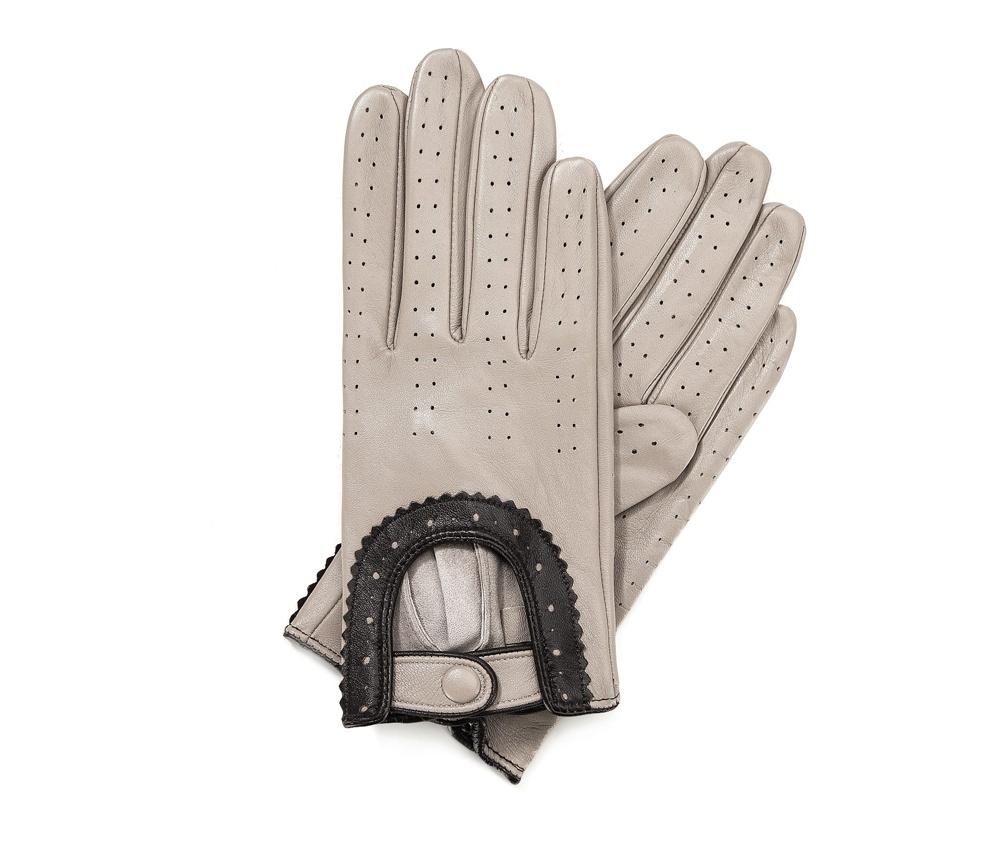 Перчатки женские Wittchen 46-6L-292-6A, слоновая кость