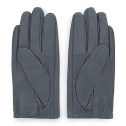 Damskie rękawiczki z gładkiej skóry, grafitowy, 46-6-309-S-L, Zdjęcie 1