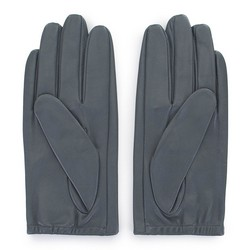 Women's smooth leather gloves, graphite, 46-6-309-S-V, Photo 1