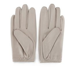 Rękawiczki damskie, ecru, 46-6L-290-6A-L, Zdjęcie 1