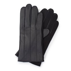 Men's gloves, black, 39-6-210-1-S, Photo 1