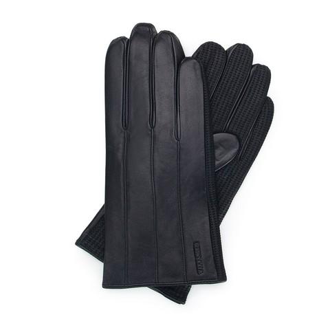 Rękawiczki męskie, czarny, 39-6-210-1-L, Zdjęcie 1