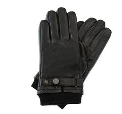 Men's gloves, black, 39-6-704-1-X, Photo 1
