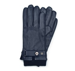 Men's gloves, navy blue, 39-6-704-GC-M, Photo 1