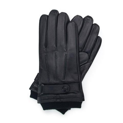 Rękawiczki męskie, czarny, 39-6-710-1-V, Zdjęcie 1