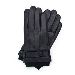 Rękawiczki męskie, czarny, 39-6-710-1-X, Zdjęcie 1