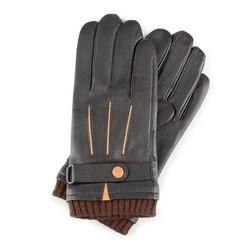 Rękawiczki męskie, Brązowy, 39-6-710-BB-V, Zdjęcie 1