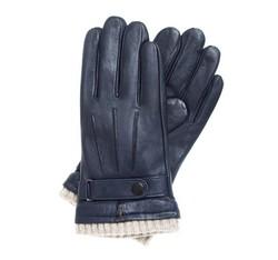 Rękawiczki męskie, granatowy, 39-6-710-GC-S, Zdjęcie 1