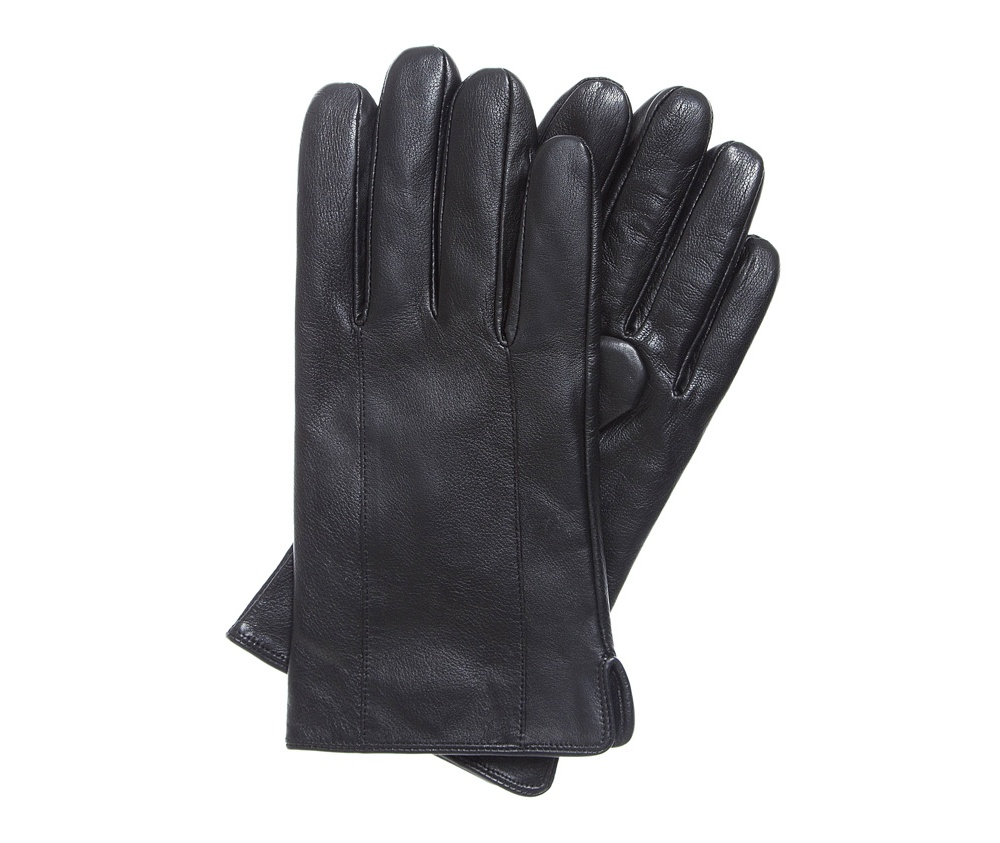 Перчатки мужскиеУтепленные мужские перчатки изготовлены из высококачественной натуральной кожи. Глубокий черный цвет подчеркнет характер классических, мужских образов.<br><br>секс: мужчина<br>Цвет: черный<br>Размер INT: L<br>вид:: утепленные<br>материал:: Натуральная кожа<br>подкладка:: polar