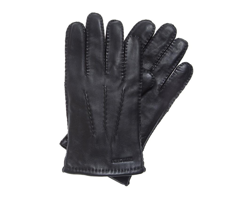 Перчатки мужскиеКлассические утепленные мужские перчатки изготовлены из высококачественной натуральной кожи. Модель декорирована отстрочкой. Благодаря вшитой эластичной резинке перчатки плотно прилегают к руке.<br><br>секс: мужчина<br>Цвет: черный<br>Размер INT: XL<br>вид:: утепленные<br>материал:: Натуральная кожа<br>подкладка:: polar