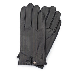 Men's gloves, black, 39-6-715-1-S, Photo 1