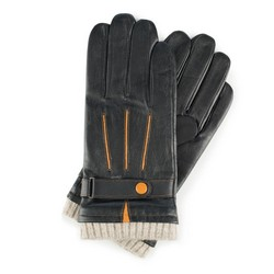Men's gloves, black, 39-6-717-1-M, Photo 1