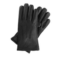 Men's gloves, black, 44-6-703-1-L, Photo 1