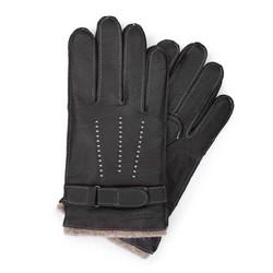 Rękawiczki męskie, czarny, 44-6-716-1-X, Zdjęcie 1