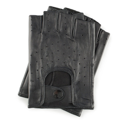 Rękawiczki męskie, czarny, 46-6-237-1-S, Zdjęcie 1