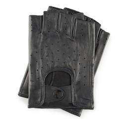 Rękawiczki męskie, czarny, 46-6-237-1-X, Zdjęcie 1