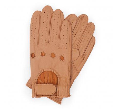Rękawiczki męskie, camelowy, 46-6L-381-LB-V, Zdjęcie 1