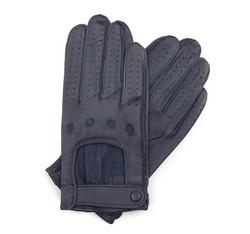 Rękawiczki męskie, granatowy, 46-6L-386-GC-L, Zdjęcie 1
