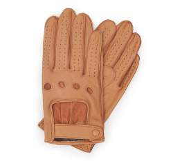 Men's gloves, camel, 46-6L-386-LB-S, Photo 1