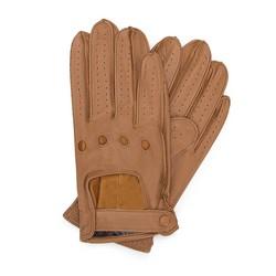 Rękawiczki męskie, camelowy, 46-6L-386-LB-V, Zdjęcie 1