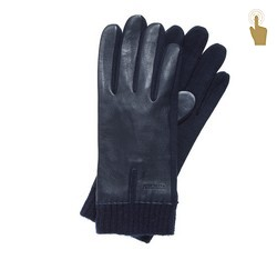 Rękawiczki męskie, granatowy, 47-6-201-7-U, Zdjęcie 1
