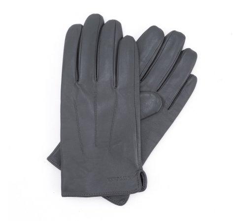 Rękawiczki męskie, szary, 39-6L-308-1-V, Zdjęcie 1