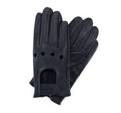 Rękawiczki męskie, granatowy, 46-6L-381-GC-L, Zdjęcie 1