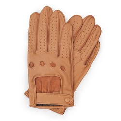 Rękawiczki męskie, ciemny brąz, 46-6L-386-B-S, Zdjęcie 1