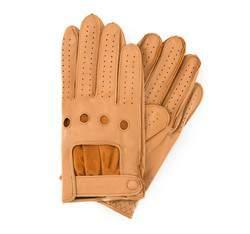 Rękawiczki męskie, jasny brąz, 46-6L-386-L-M, Zdjęcie 1