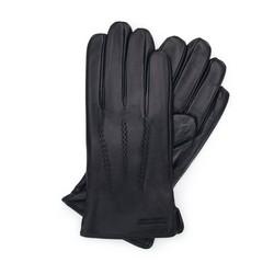 Перчатки мужские кожаные Wittchen 39-6-709-1, черный 39-6-709-1