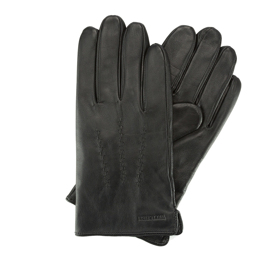 Перчатки мужские кожаныеПерчатки мужские кожаные<br><br>секс: мужчина<br>Цвет: черный<br>Размер INT: XL<br>материал:: Натуральная кожа