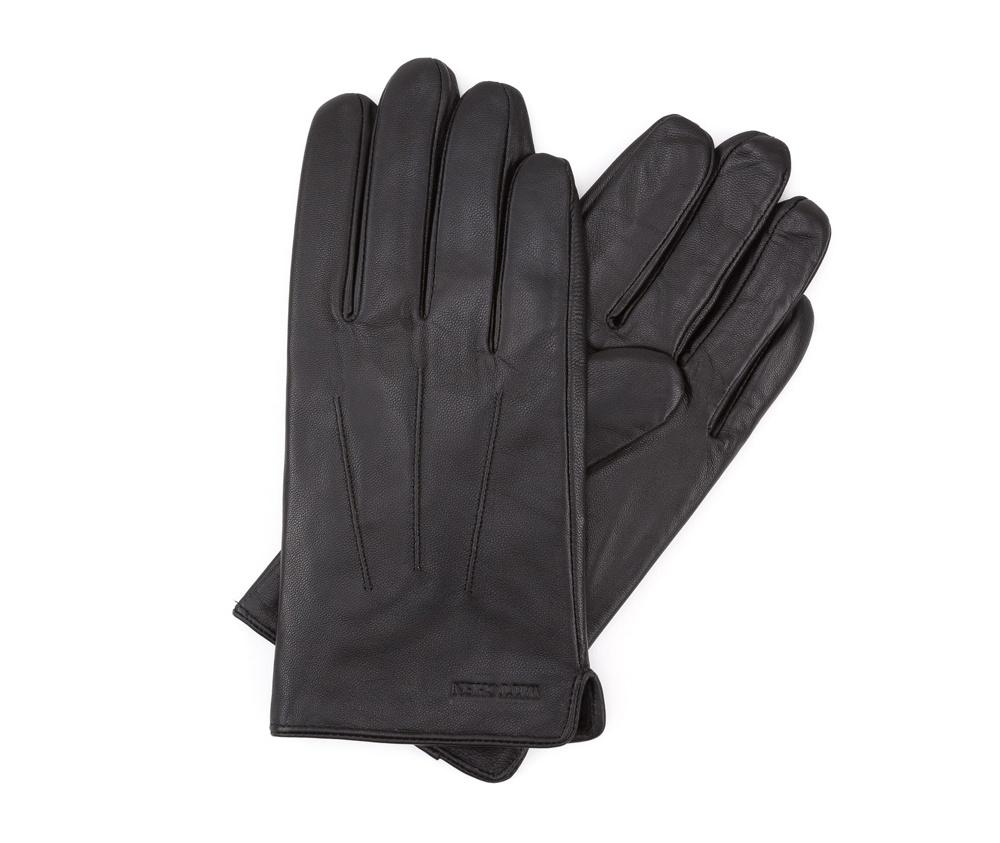 Перчатки мужские кожаные Wittchen 39-6L-308-1, черныйПерчатки мужские кожаные<br><br>секс: мужчина<br>Цвет: черный<br>Размер INT: S<br>материал:: Натуральная кожа