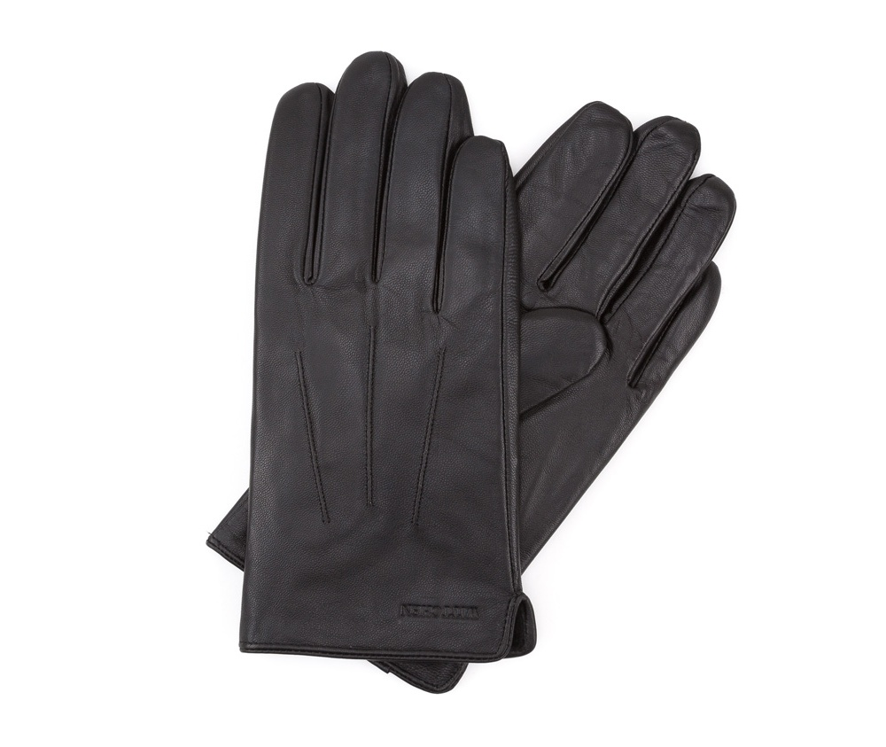 Перчатки мужские кожаныеПерчатки мужские кожаные<br><br>секс: мужчина<br>Цвет: черный<br>Размер INT: M<br>материал:: Натуральная кожа