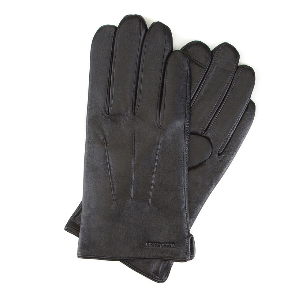 Перчатки мужские кожаные Wittchen 39-6L-908-1, черныйПерчатки мужские кожаные<br><br>секс: мужчина<br>Цвет: черный<br>Размер INT: L