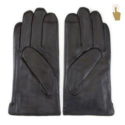 Rękawiczki męskie, czarny, 39-6L-908-1-X, Zdjęcie 1