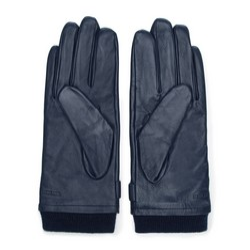 Rękawiczki męskie, granatowy, 39-6-704-GC-M, Zdjęcie 1