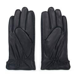 Men's gloves, black-grey, 39-6-714-1-V, Photo 1