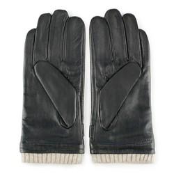 Men's gloves, black, 39-6-717-1-M, Photo 1