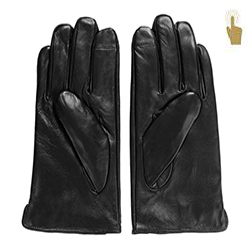 Rękawiczki męskie, czarny, 39-6L-907-1-V, Zdjęcie 1