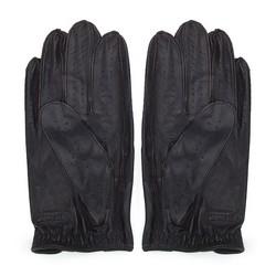 Rękawiczki męskie, ciemny brąz, 46-6L-386-BB-M, Zdjęcie 1